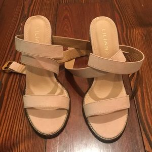 Liliana ankle wrap heel